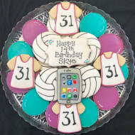 birthday-volleyball-and-phone-platter