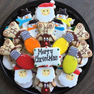 Merry-Christmas-with-Rudolph-platter
