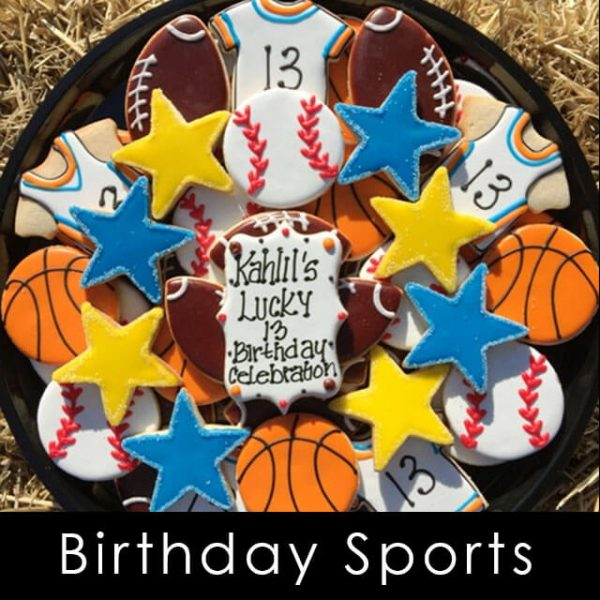 Happy Birthday Sports Platter