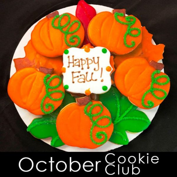October Cookie Club - Pumpkin Cookies